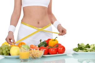 Dietary rules for losing weight by 10 kilograms per month